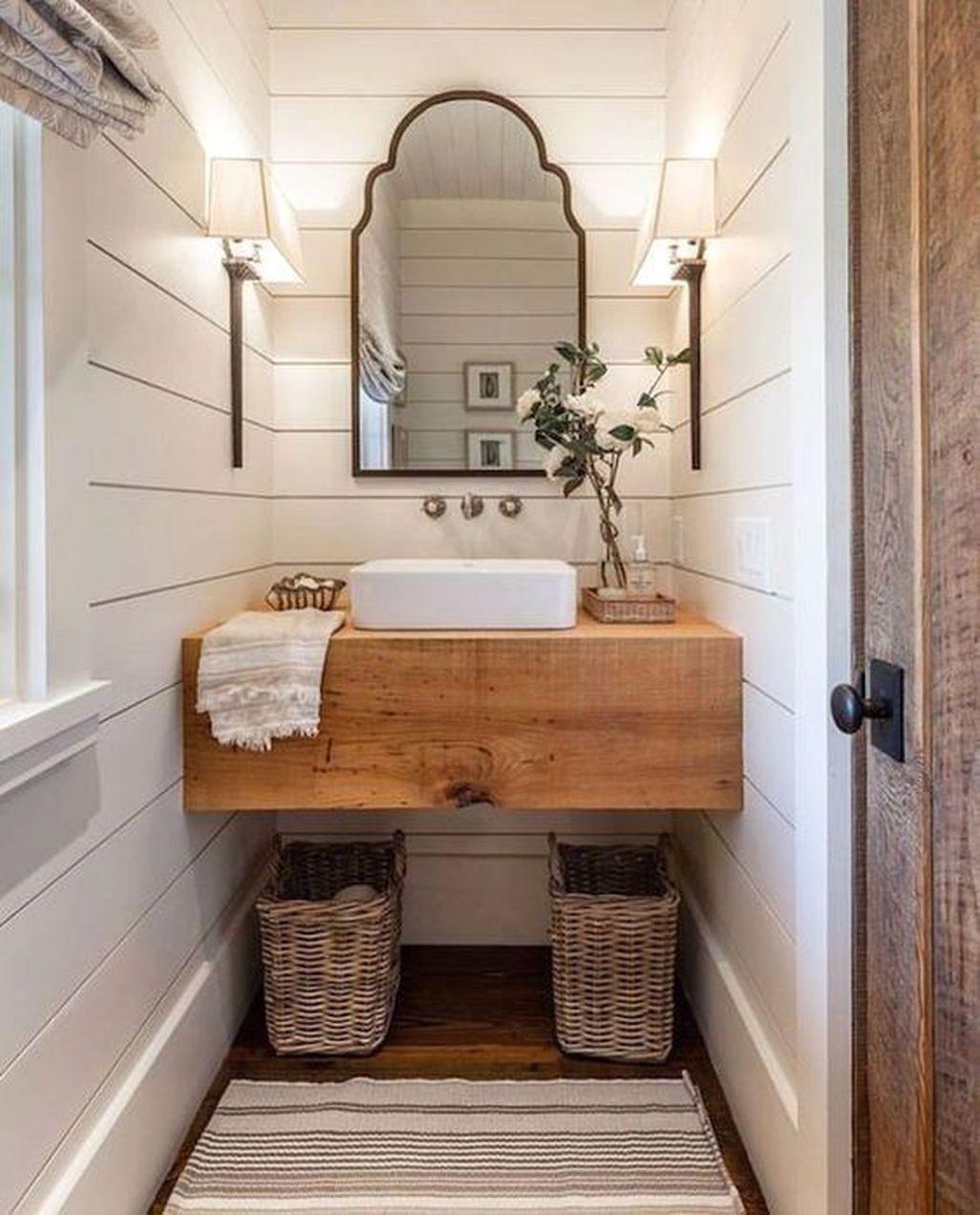 46 Awesome Small Powder Room Design Ideas Powder Room