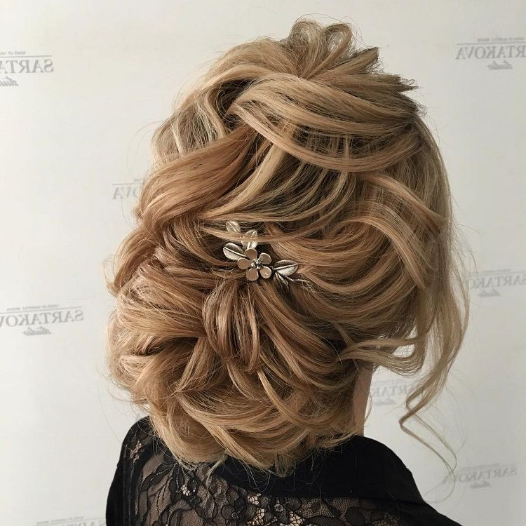Fabulous Updo Wedding Hairstyles with Glamour