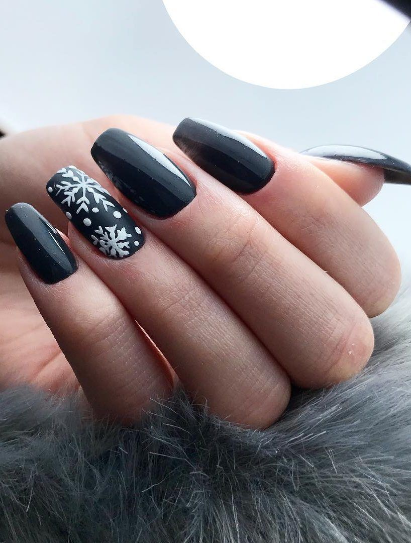 Festive Christmas Nail Art Ideas New Year Colorful Quotes 2019