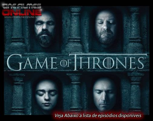 Serie Game Of Thrones 6ª Temporada Dublado Legendado Em Hd 720p