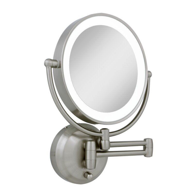 Starke Makeup Shaving Mirror With Images Wall Mounted Lighted