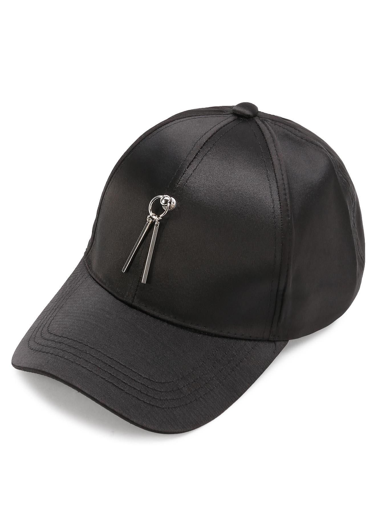 ca84bdc89f Stylish Metal Ring Decorated Embroidery Baseball Hat in 2019 | Stuff to Buy  | Baseball hats, Hats, Baseball