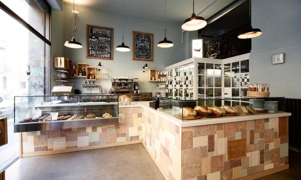 Pav milano by xxystudio via behance bakery design in for Milano design shop