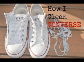 shoes, How to clean white converse, Shoes