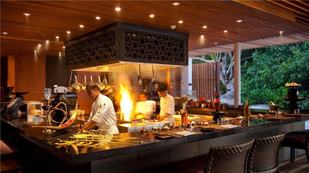 island kitchen restaurant - Google Search   Kitchen Action   Pinterest