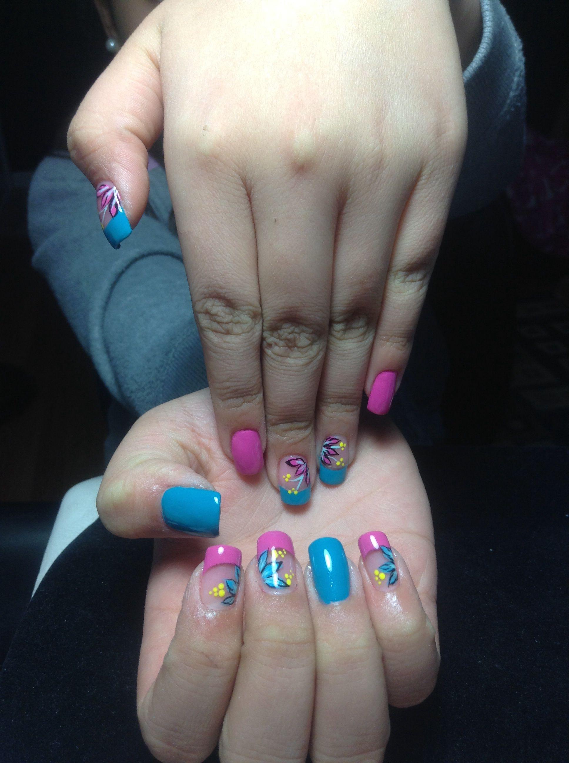 Nail Art For A 13 Year Old Acrylic Nails Cute Nails Nails