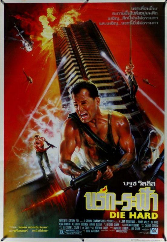 Die Hard Thai Poster Actionmovies Top Action Movies Best