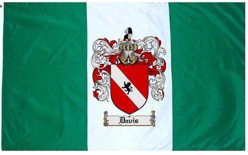 Davis Coat of Arms / Family Crest Flag $43.99