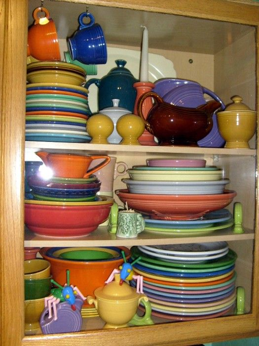 The Allee Willis Museum of Kitsch » Fiesta Dinnerware. love that ...