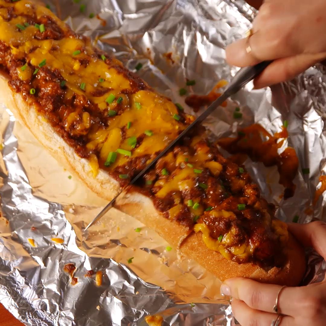 Chili Cheese Dog Bread