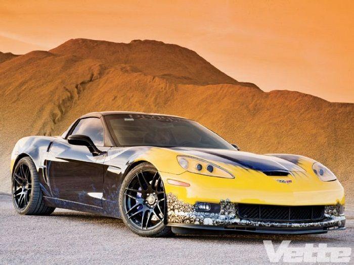 Custom Corvette Paint Job Car Paint Jobs Corvette Paint Job