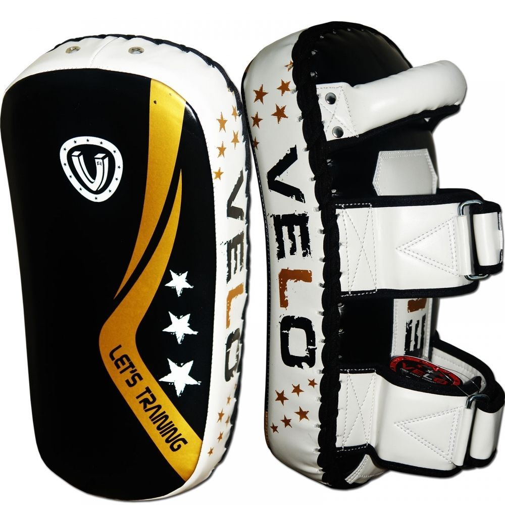 Leather Boxing Gloves MMA Training Sparring  Muay Thai Fight Punch BW Boxing