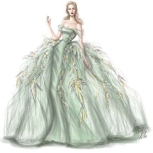 Evening dress | FASHION ILLUSTRATIONS | Pinterest | Fashion ...