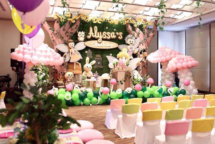 Secret Garden: Fairy Garden 1st Birthday Party