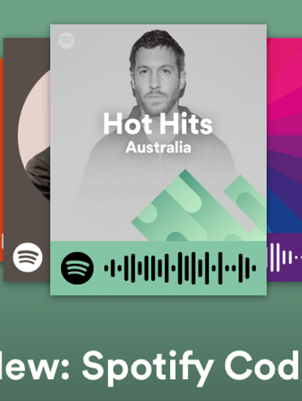 Scan these new QRstyle Spotify Codes to instantly play a
