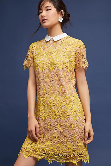 English Factory Sunflower Lace Dress, affiliate link ...