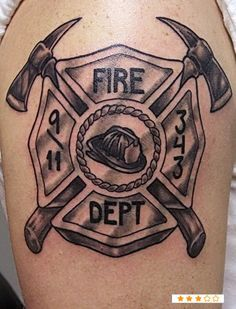 3d Maltese Cross Google Search Fire Department Tattoos Fire