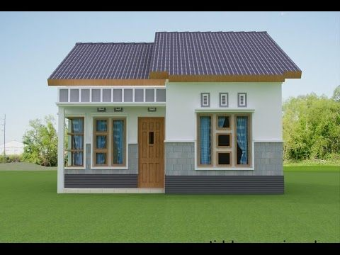 Model Rumah Minimalis Sederhana Tapi Mewah | Rumah Pedesaan, Desain Rumah,  Denah Rumah Pedesaan