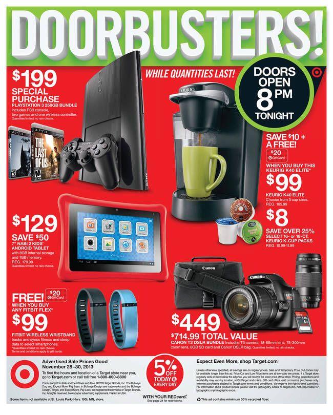 Weekly Ad page 36 of 36 Black friday target, Black