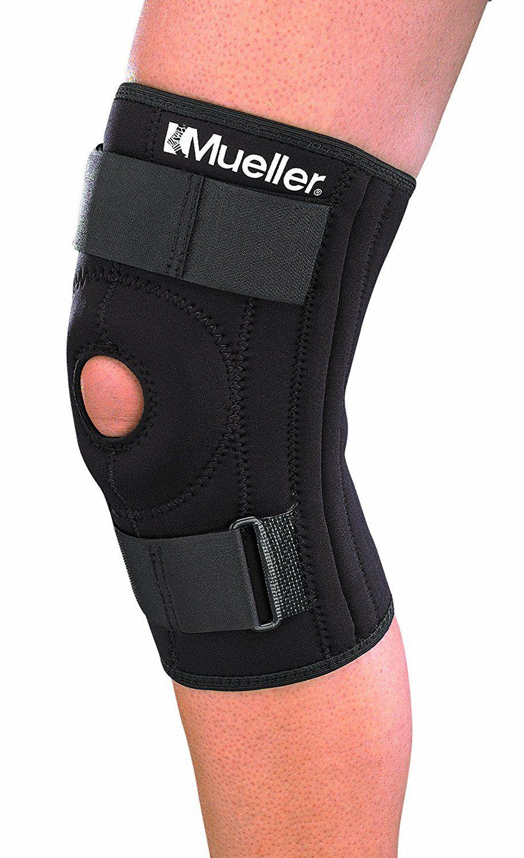 Mueller Patella Stabilizer Knee Brace, Medium, Black, 1