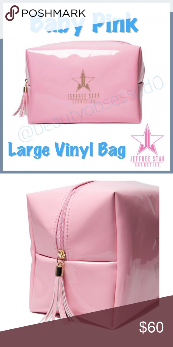 Last 1 Baby Pink Large Vinyl Bag Vinyl Bag Baby Pink New Baby Products