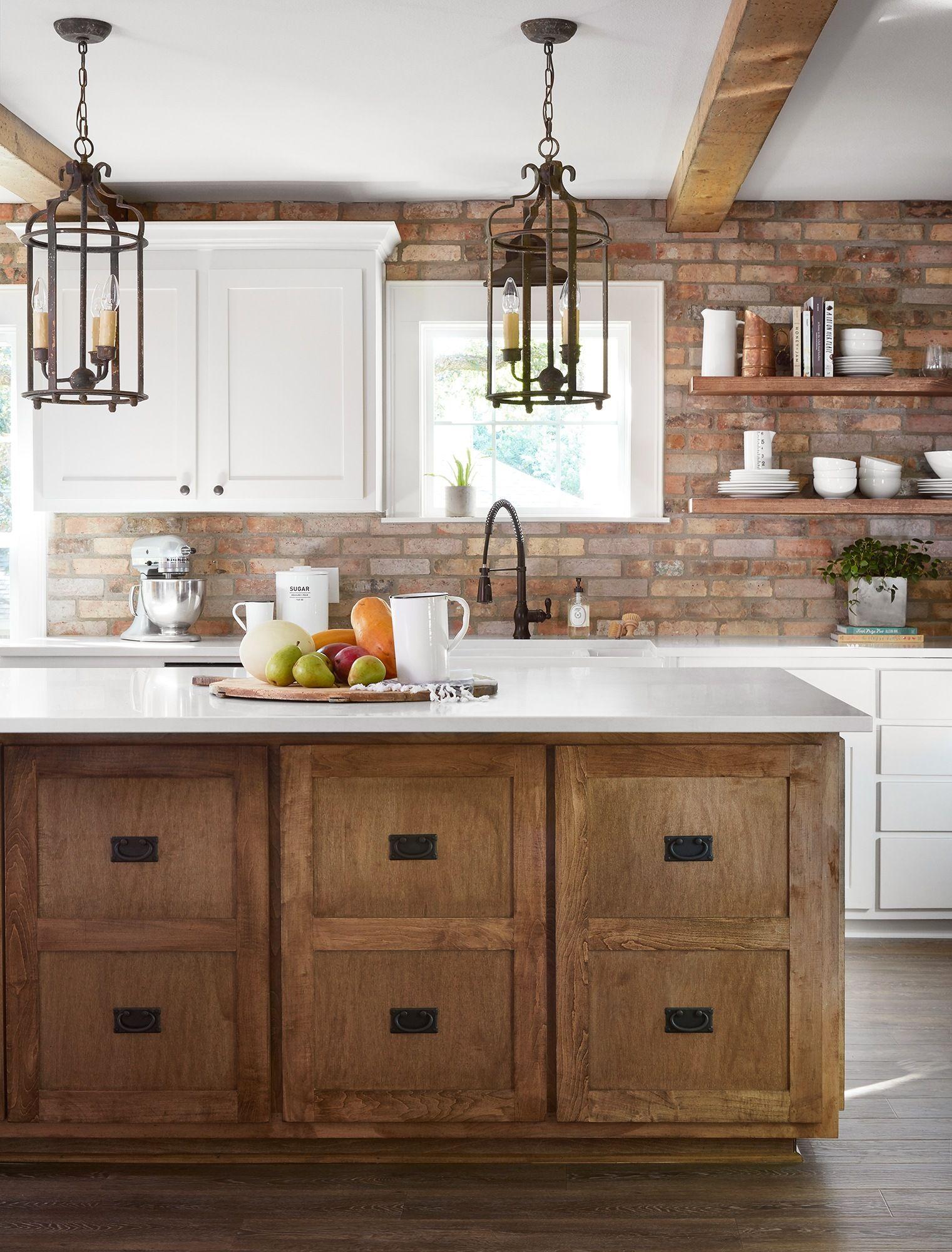 Season 5 fixer upper episode 3 reveal fixer upper for Joanna gaines style kitchen