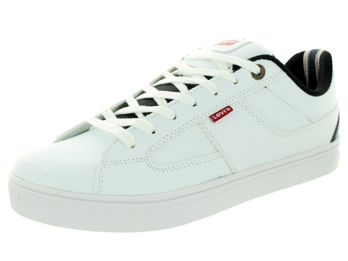 New Style Mens Sneakers - Levi's Gavin Core Pu White/Black