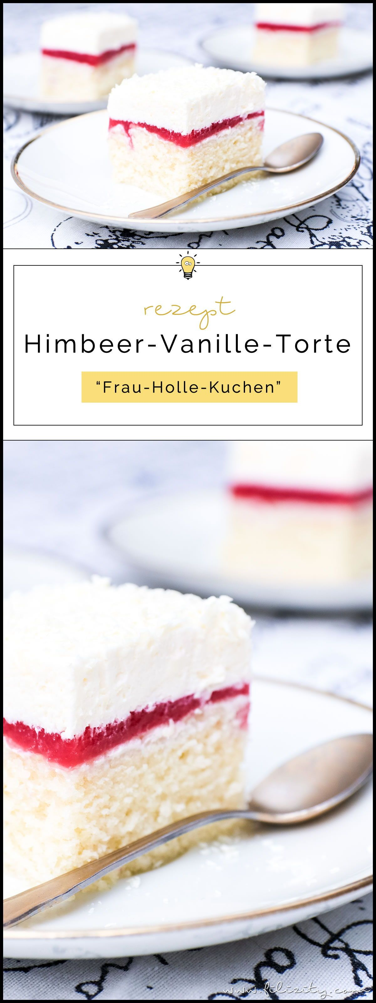 Photo of Raspberry and vanilla cake (Frau Holle Kuchen) Filizity.com | F …