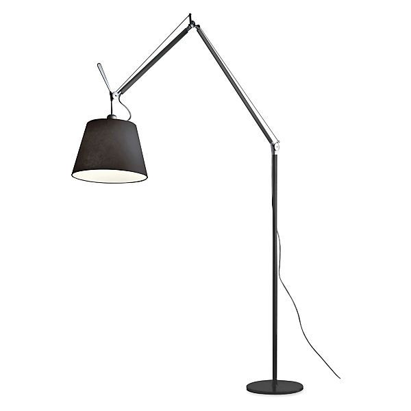 Tolomeo Mega Floor Lamp Black Floor Lamp Lamp Floor Lamp