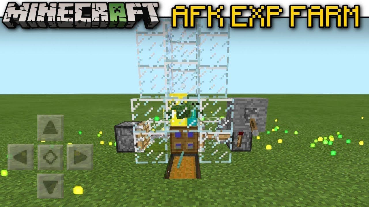 Minecraft AFK EXP. (xp ) FARM ( Automatic )[ Tutorial