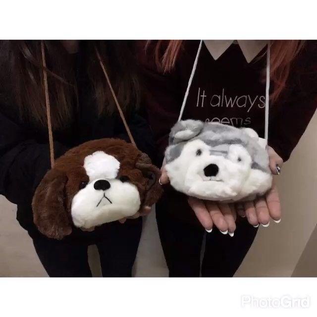 サンキューマート On Instagram 愛らしい顔が可愛い アニマルポーチが入荷しました オオカミと犬 肩かけにもポーチにしても 使えます 毛並みももふもふ で触り心地抜群です もちろん全品390円 Teddy Bear Teddy Instagram Posts