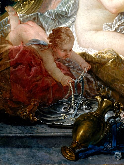 fran 231 ois boucher 1703 1770 the toilet of venus 1751 detail rococo