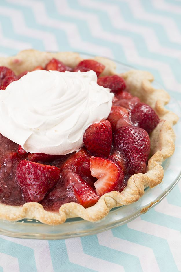 A Perfectly Delicious Strawberry Pie: http://www.sliceok.com/April-2015/A-Perfectly-Delicious-Strawberry-Pie/