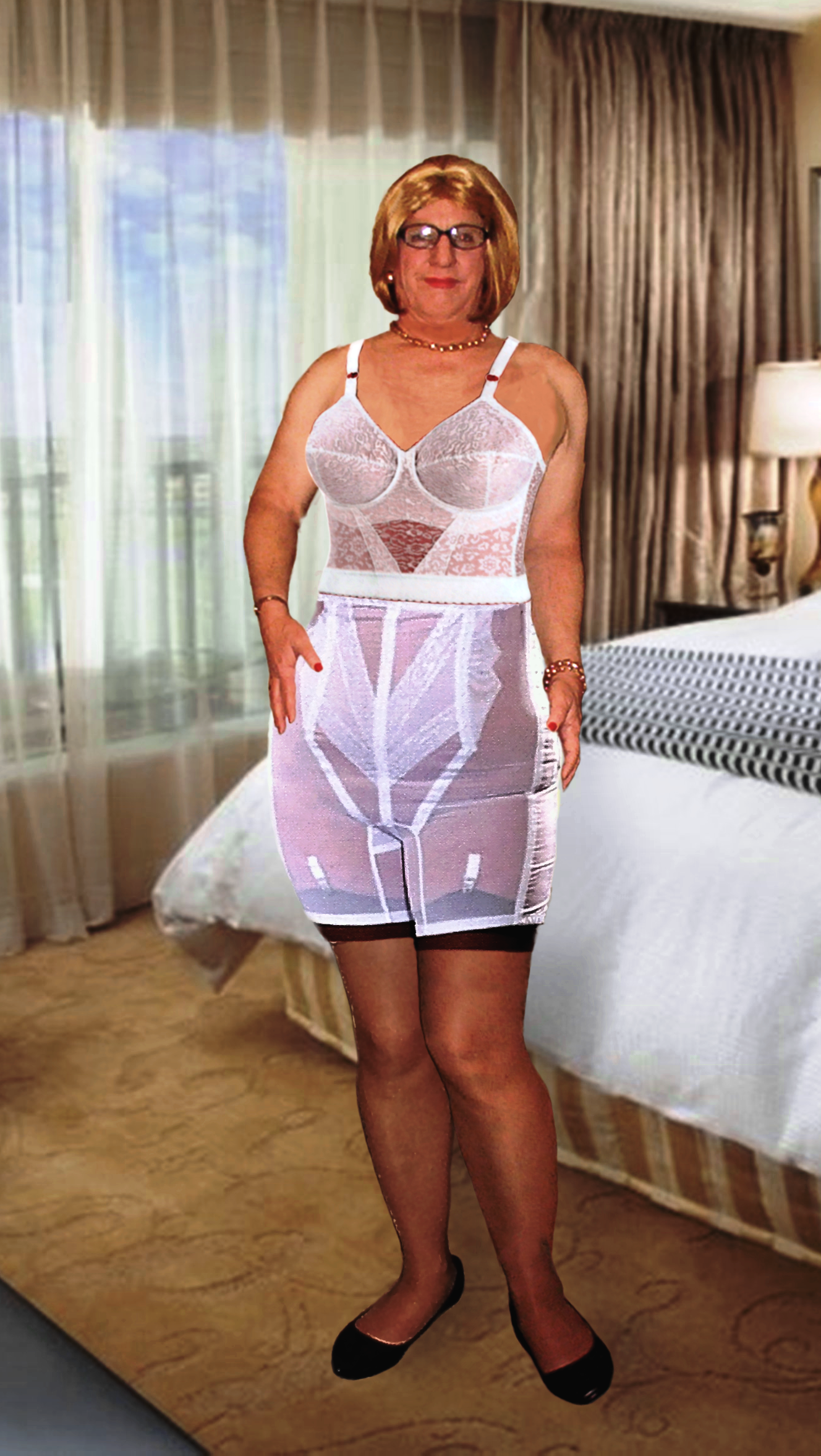 619525c4bbe53 RAGO STYLE 6210 - HIGH WAIST HALF LEG EXTRA FIRM SHAPING This is my go to  shapewear. This is about as firm control as you can get.