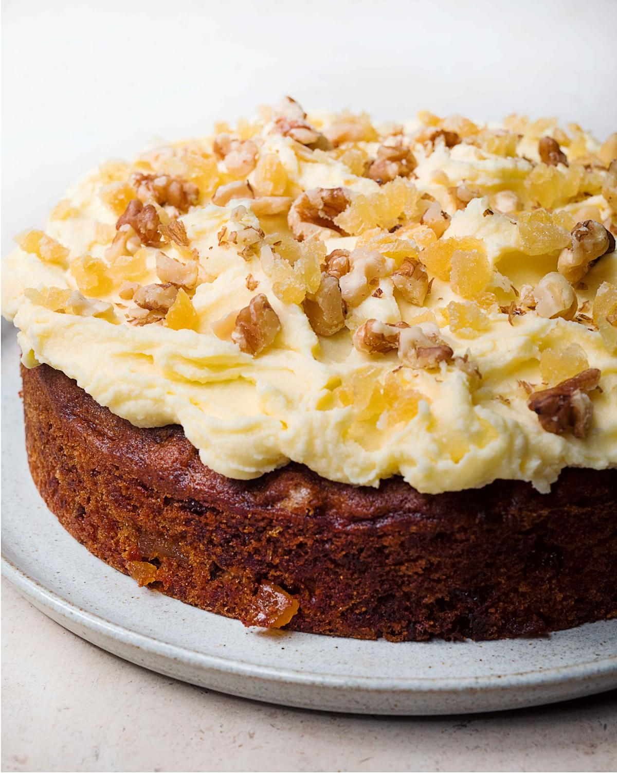 Ginger And Walnut Carrot Cake Recipe Cake Recipe Koogi