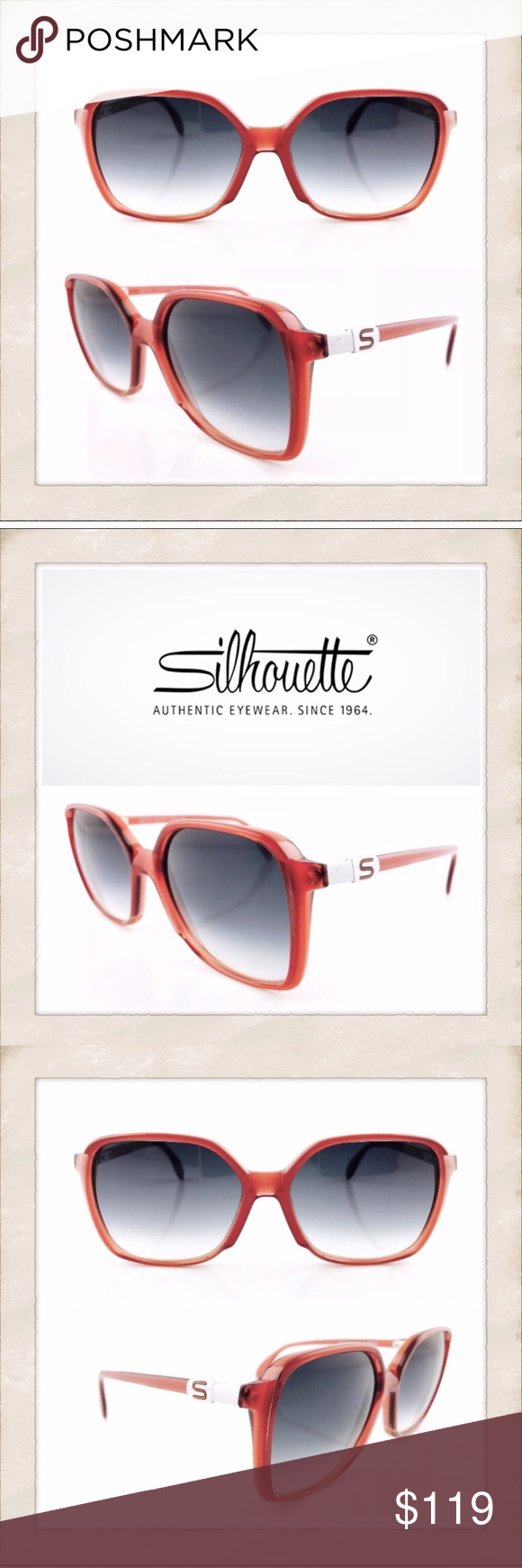 196f55d248 Vintage silhouette sunglasses silhouette png 580x1740 Silhouette glasses  company