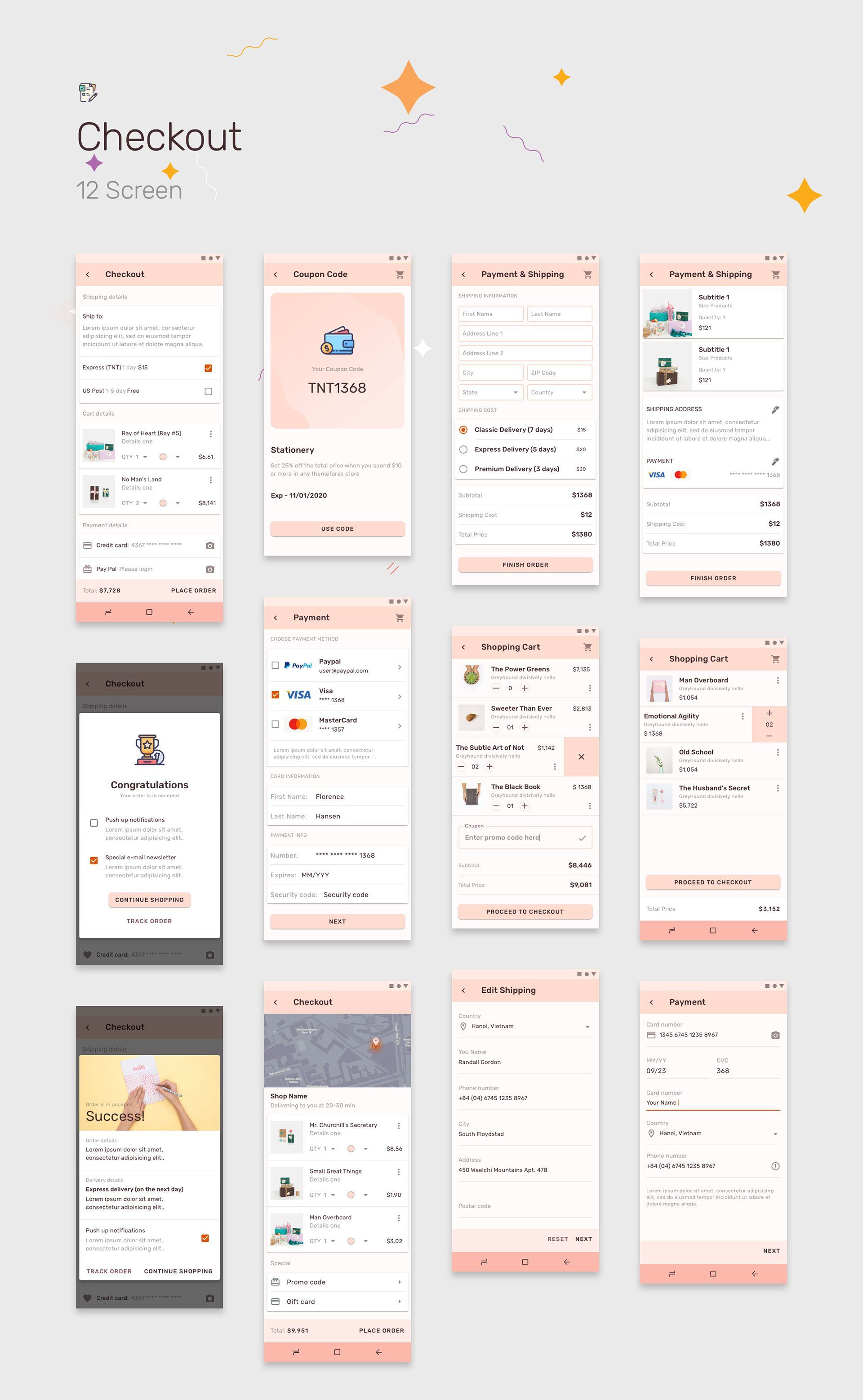 Prototype 86 Template For Android Prototype, Android
