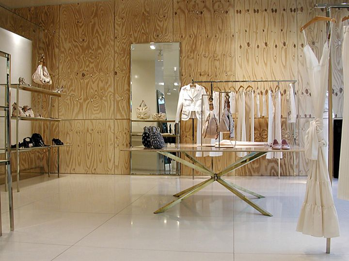 Chloe flagship store by sophie hicks london 03 retail for Raumgestaltung mcqueen