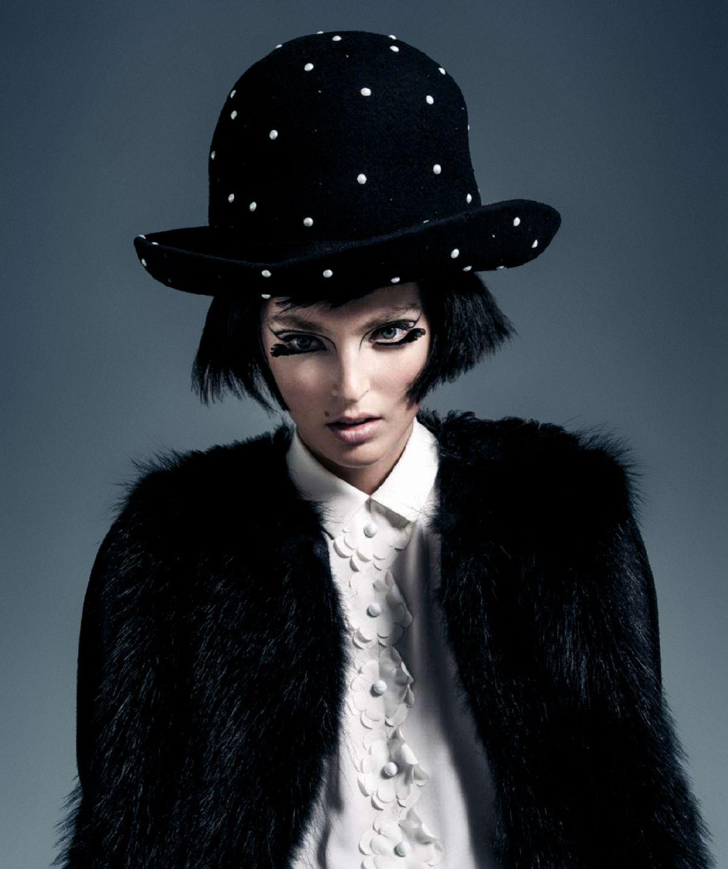 Ymre Stiekema for Harper's Bazaar Spain November 2014