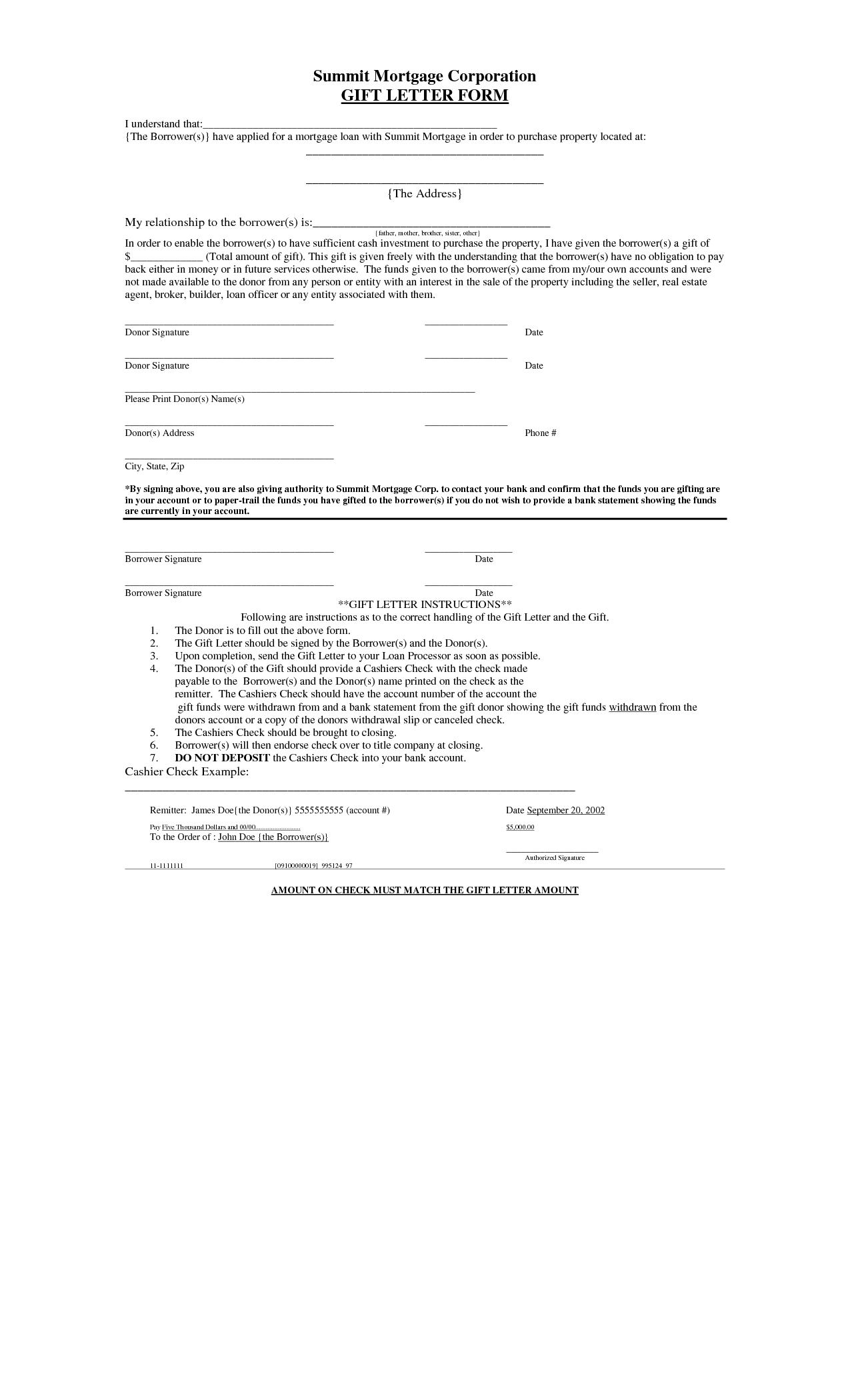 Authorization Letter For Claim Money Free Printable Formats And