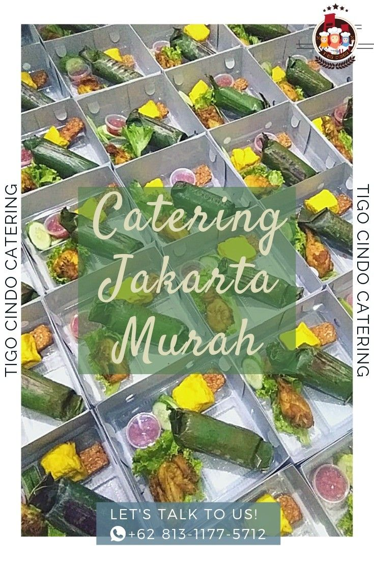 Catering Jakarta Murah Catering, Rice box, Snack box