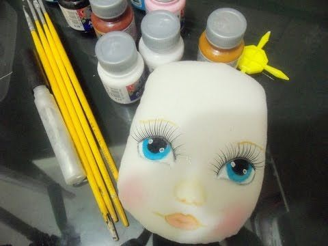 Como Pintar Rosto De Boneca De Pano Kak Risovat Lico Tryapichnaya
