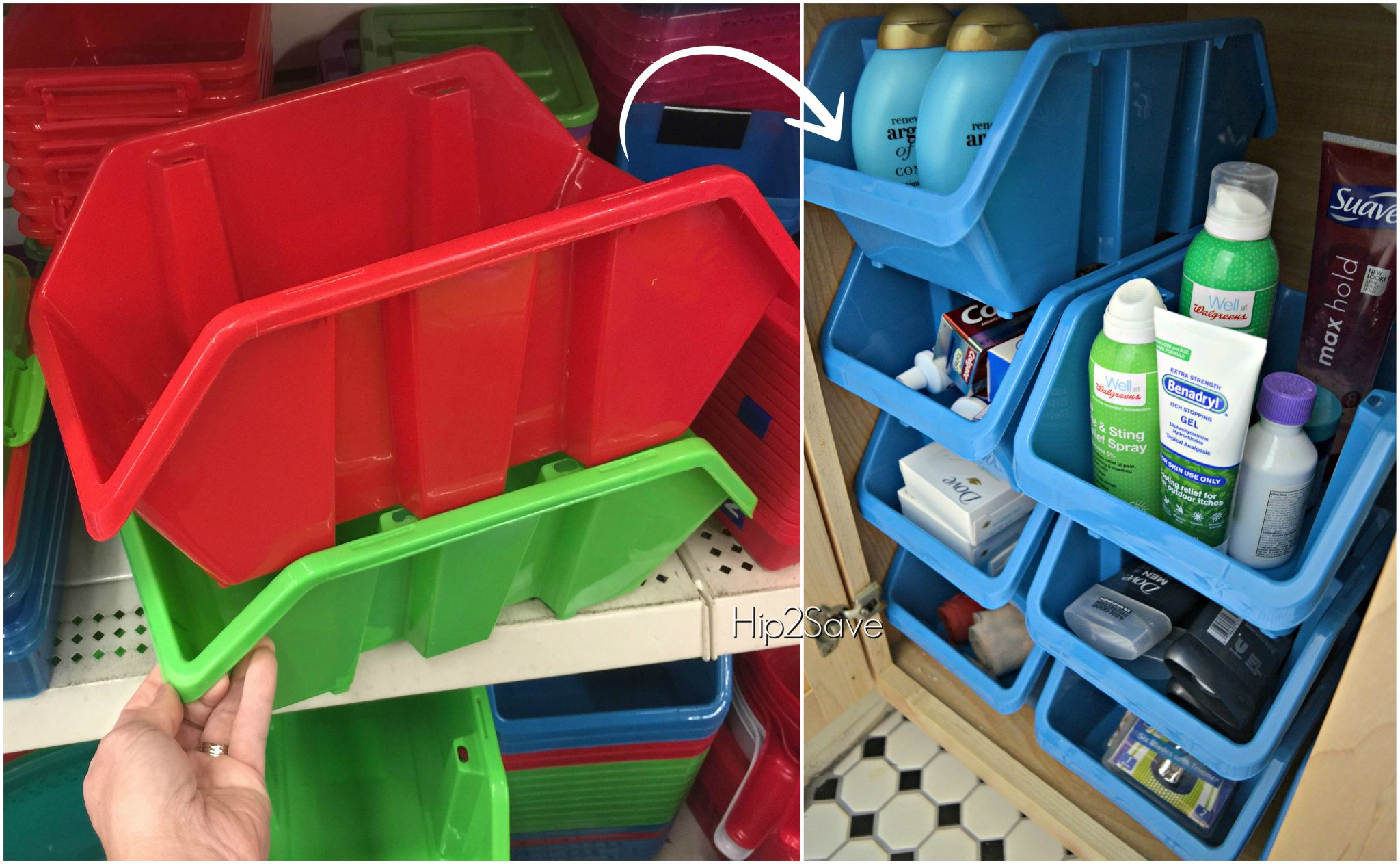 get organized! 10 storage solutions only $1 each at dollar tree