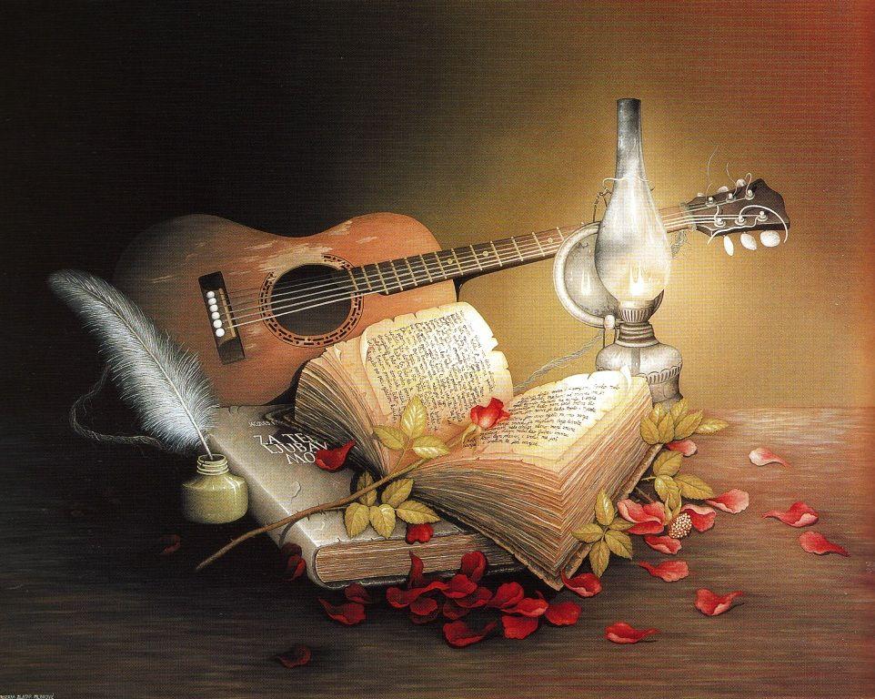Маме, поздравление с юбилеем мужчине открытка с гитарой