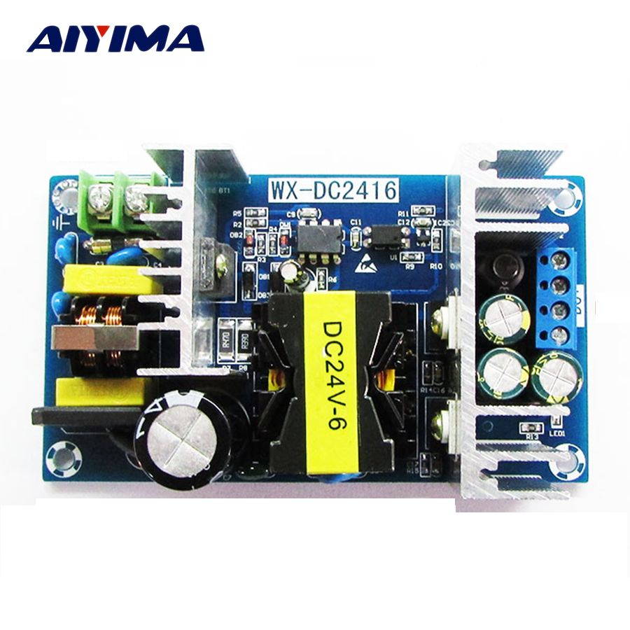 Ac Dc 24v 6a150w Switching Power Supply Module Ac 110v 220v To Dc 24v High Power Industrial Switching Power Board Affi Consumer Electronics Higher Power Acdc