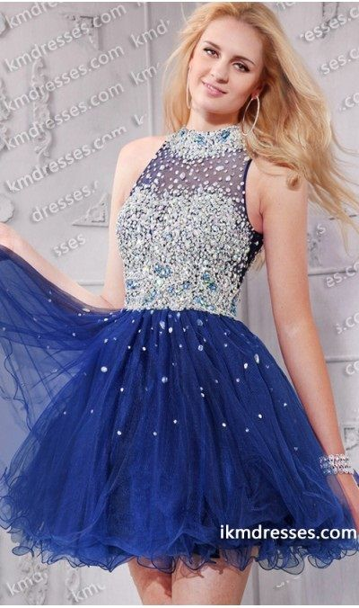 Cut Out Short Prom Dresses