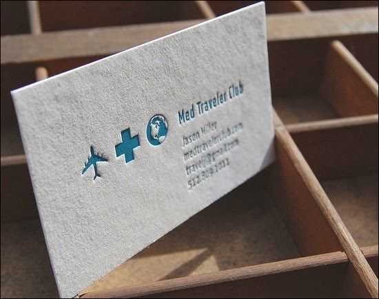 Tarjetas de contacto publicitarias y ms papelera claudia 20 clean and creative letterpress business cards reheart Choice Image