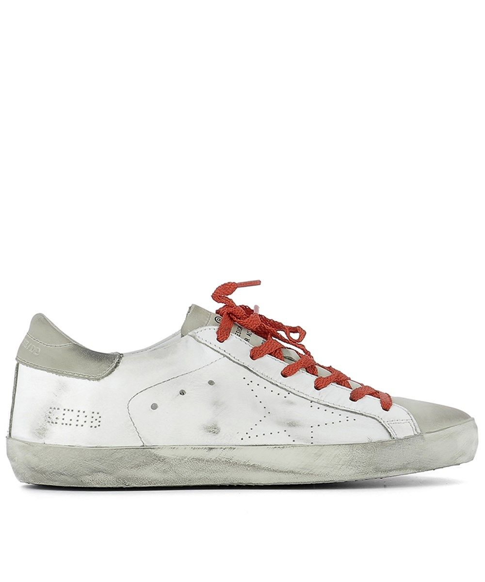 GOLDEN GOOSE Golden Goose Women'S  White Leather Sneakers'. #goldengoose #shoes #sneakers