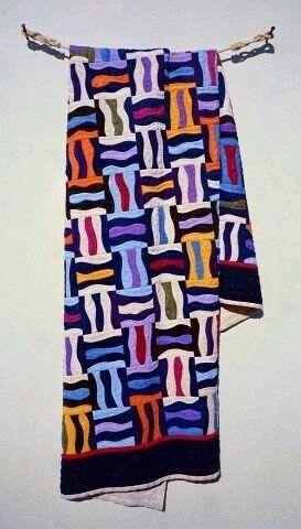 ※ 퀼트마리의 퀼트감상~(? ? ) (16) Fraser Smith - wood sculpture artist 퀼트작품들, 참!색감도 좋고...