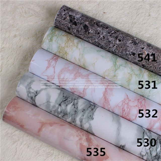 Wonderful Wallpaper For Walls Marble Sticker Vinyl Wall Paper Roll Self Adhesive  Stickers Modern Contact Paper For